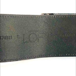 LOFT Accessories - 👛2/$50 Loft Dark Brown 2 Tongue Leather Belt